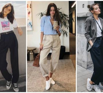 19 стайлинг идеи, с които офисният панталон не изглежда скучно