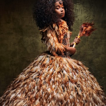 Фотографка превръща малки афроамериканки в Disney принцеси