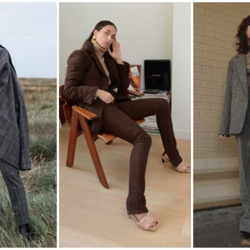 24 стайлинг идеи с костюмите, които ще носим тази есен