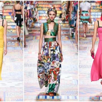 Новата колекция на Dolce & Gabbana – мозайка от цветове и емоции
