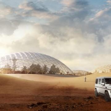 Строят марсиански град… в Дубай