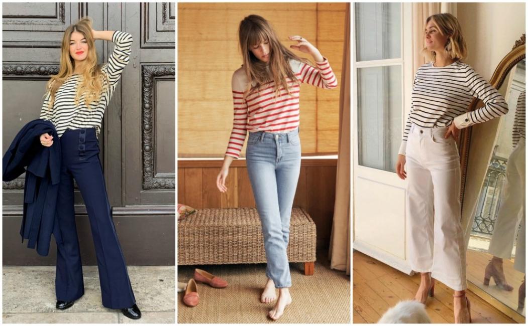 21 стайлинг идеи как да носим класическата блуза с райе тази есен