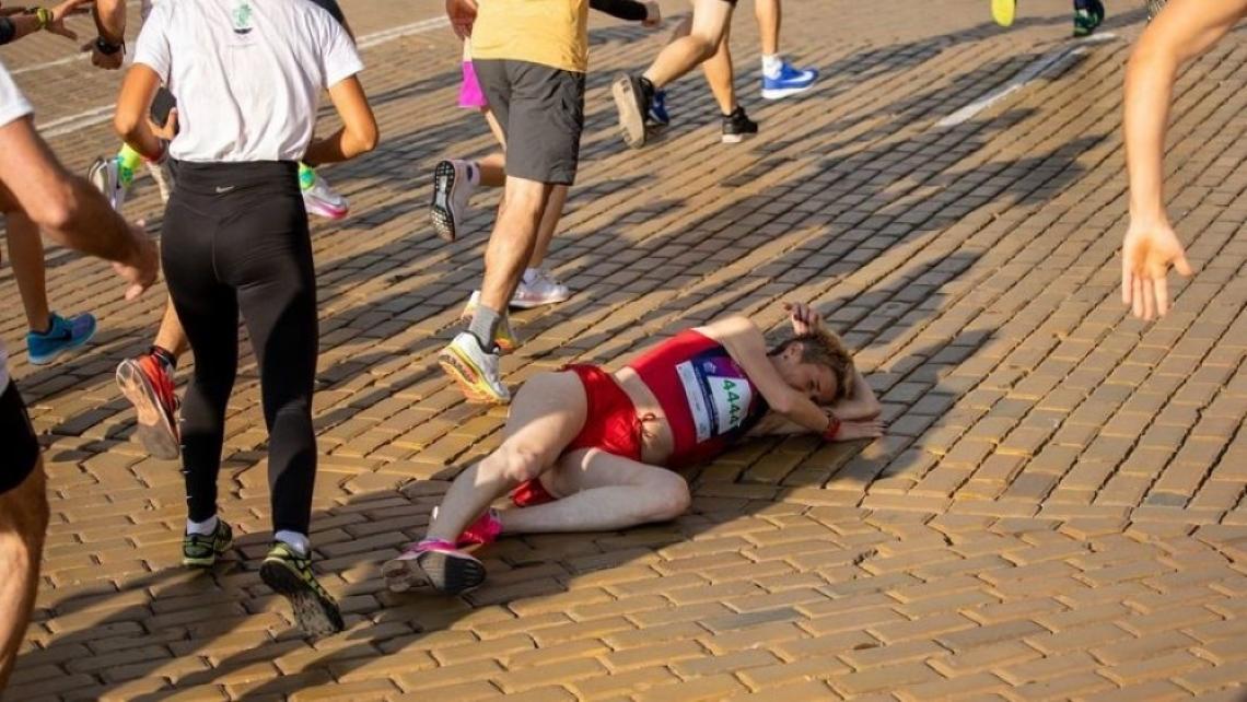 """Агресията на маратона - """"обикновен"""" вандализъм или проява на сексизъм?"""